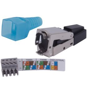 Liberty's Connectec Category 6A/7 Shielded 8P8C Field RJ45