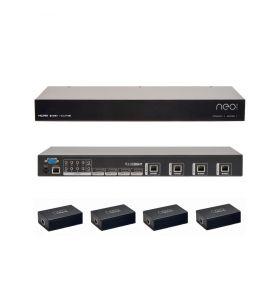 Pulse-Eight Neo:4 Basic (P8-HDBT-L-FFMB44-KIT)