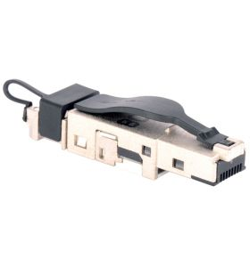 Liberty '1401405012-I' Category 6A Shielded 8P8C RJ45 Plug 'Tool-Less'